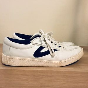 Velvet & leather Tretorn Nylite Sneaker
